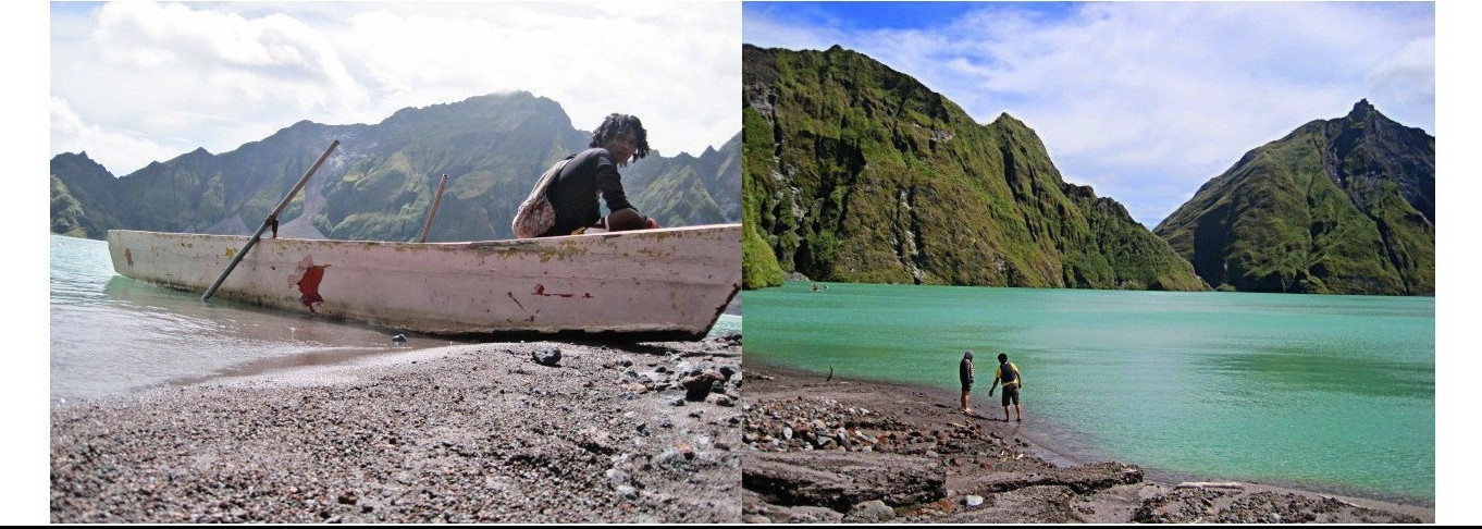 Pinatubo Crater Hike