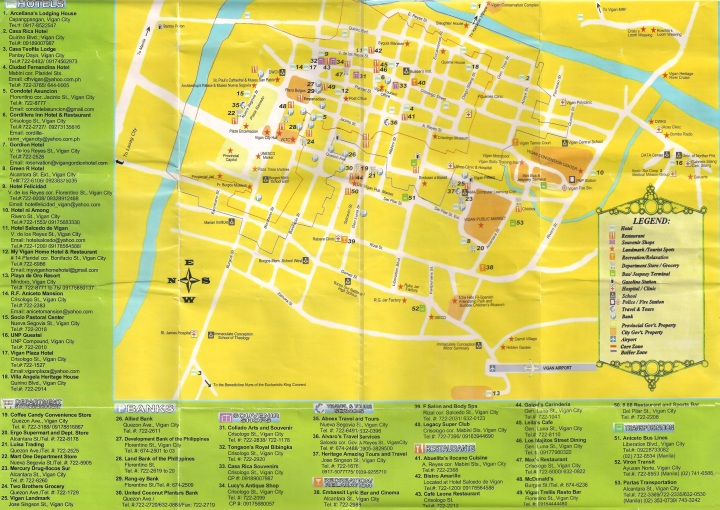 Vigan Map Guide