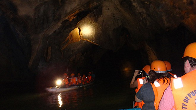 Going Inside the Underground River in Puerto Princesa Palawan. Family Tour package