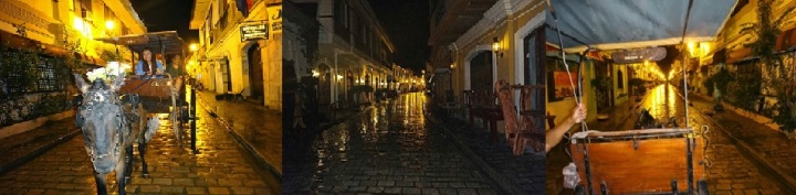 Kalesa Evening Ride. Calle Crisologo, Vigan.