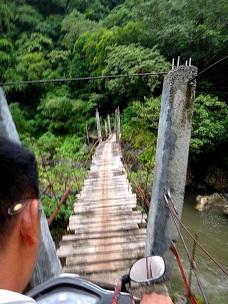 Madjaas Climb Shaky Bridge