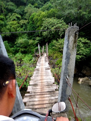 Madjaas Climb Shaky Bridge