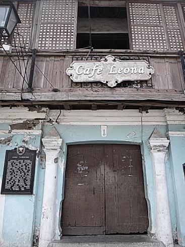 Cafe Leona, Vigan. Leona Florentino