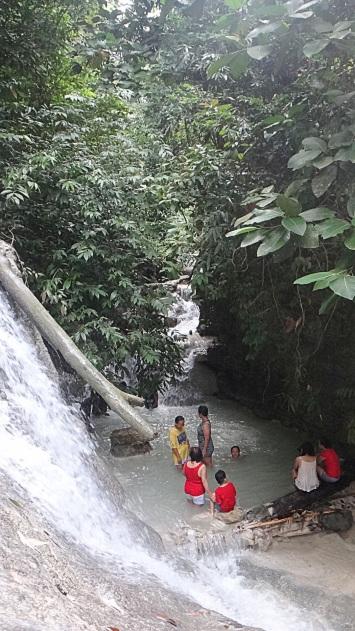 Aguinid Falls, Samboan Cebu.
