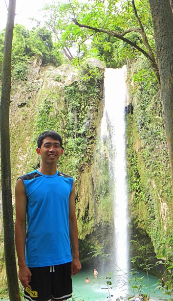 Inambakan Falls. Ginatilan, Cebu. Travel Photo