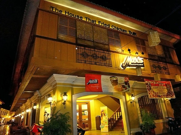 Max Restaurant. Vigan. Travel Itinerary Guide. Vigan Tricycle Tour Package.