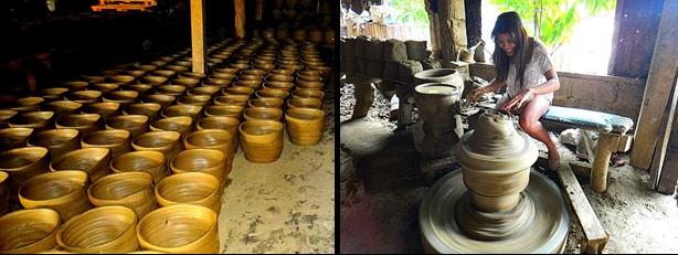 Pagburnayan. Vigan Pottery