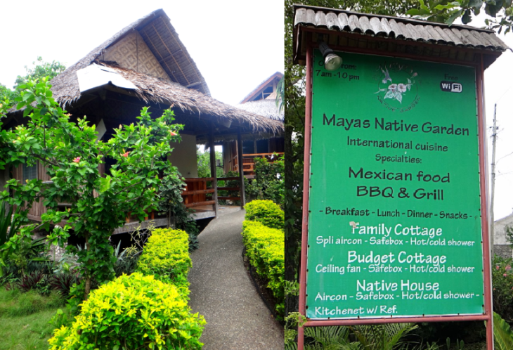 Mayas Native Garden. Panagsama Beach. Moalboal Beach Resort Accomodation. #beachineering