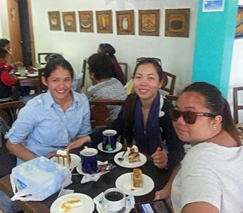 Buy Pasalubong at Sans Rival Cakes and Pastries Trip to Dumaguete City.