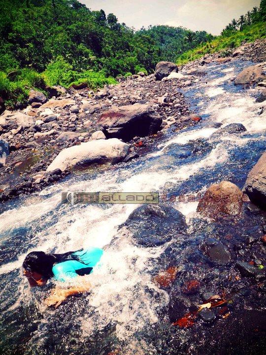 River. Mayon Climb.