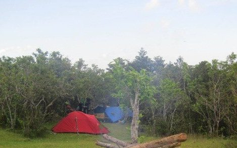 Mayon Climb Campsite