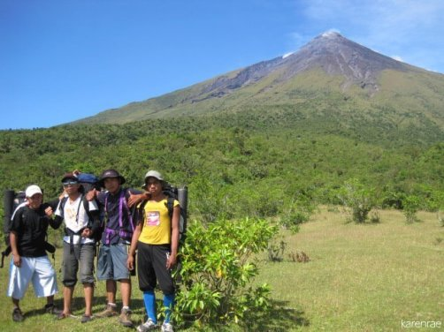 Mt. Mayon Climb