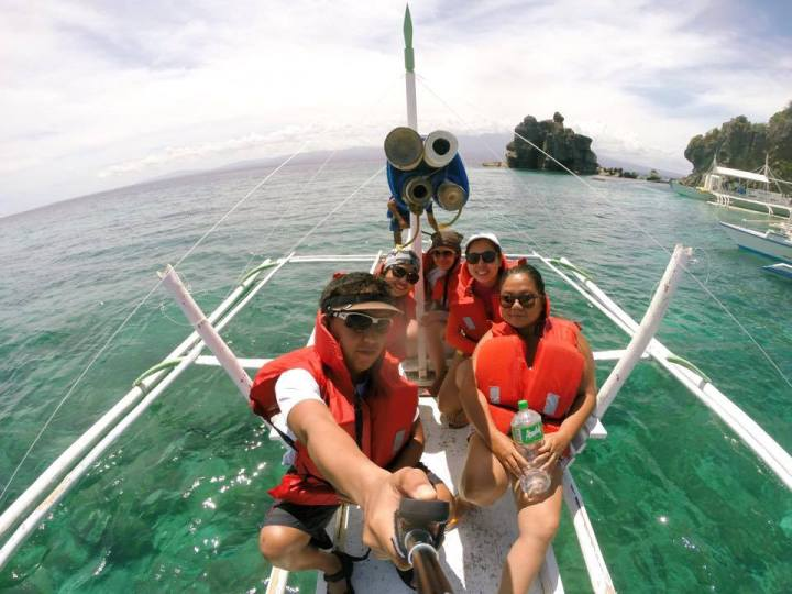 Boat Ride to Apo Island, Dauin Negros. Cebu to Dumaguete Travel Itinerary Weekend Guide.