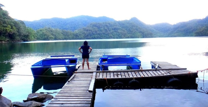 Habal-habal ride Balinsasayao Twin Lakes and Lake Danao in Sibulan, Negros. Dumaguete to San Jose Travel Itinerary Guide.