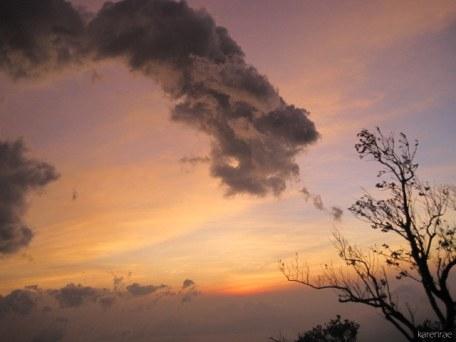 Sunrise. Mayon Climb.