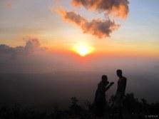 Mayon Climb Sunset