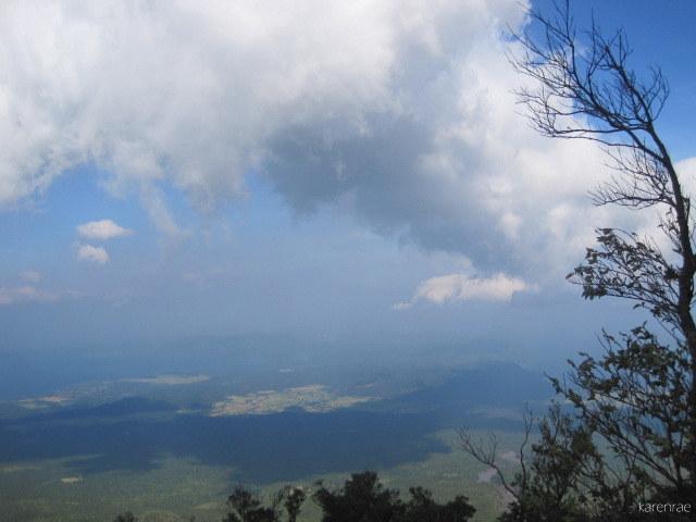 Mayon Summit Climb. Albay Gulf.