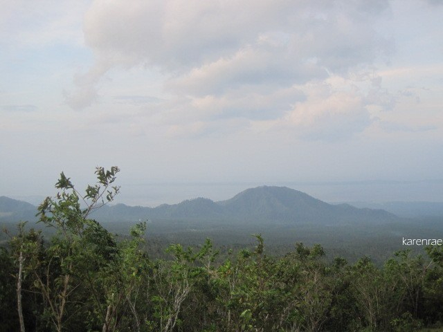 Bulusan from Mayon Climb.