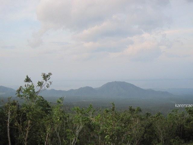 Bulusan from Mayon Climb.