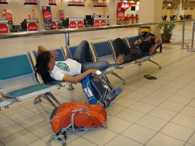 Sleep at Kota Kinabalu International Airport