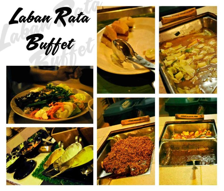 . Laban Rata Buffet Dinner in Mount Kinabalu.