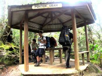 Pondok Ubah. Mount Kinabaly, Malaysia