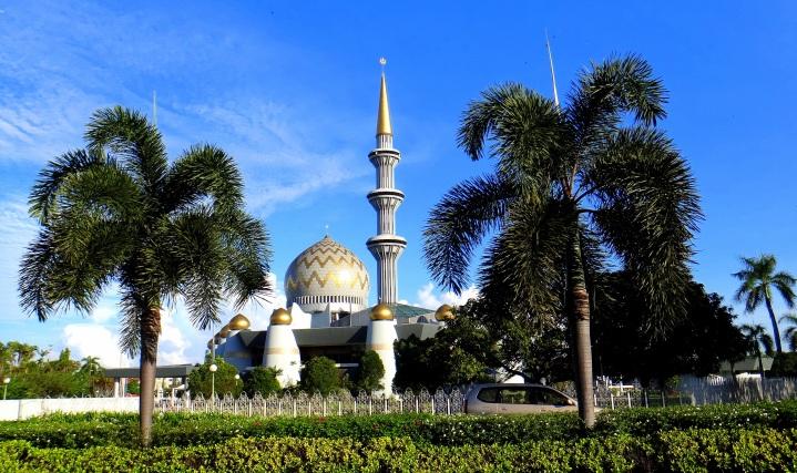 Sabah State Museum. Kota Kinabalu, Malaysia.