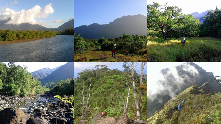 Different landscapes of Mt. Guiting-Guiting. 3D2N Reverse Traverse Climb.