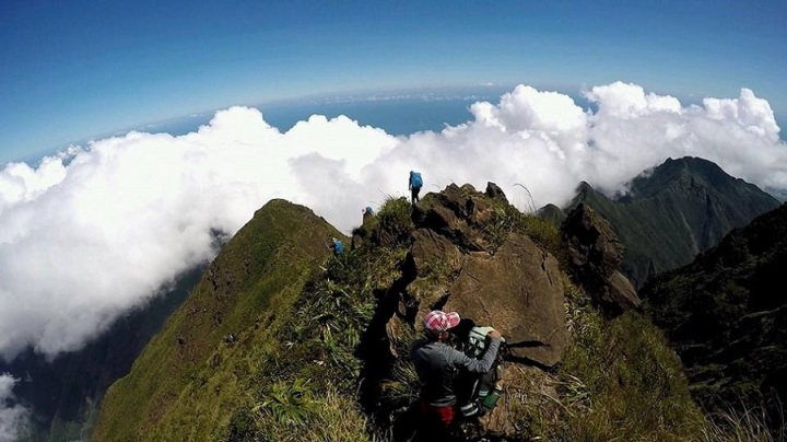 Mt. Guiting Guiting Mountain Landscape