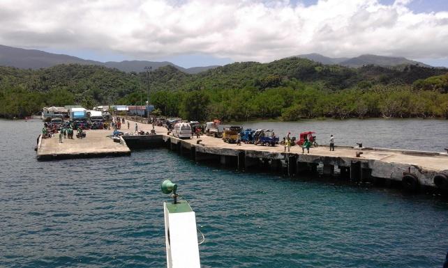 Ambulong Port, Magdiwang. Things To Do Sibuyan Island. How to get to Sibuyan Island, Romblon.
